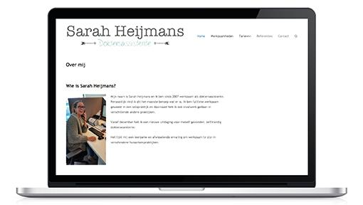 Waarneemassistente - Website design - Dots and Lines grafische vormgeving Tilburg