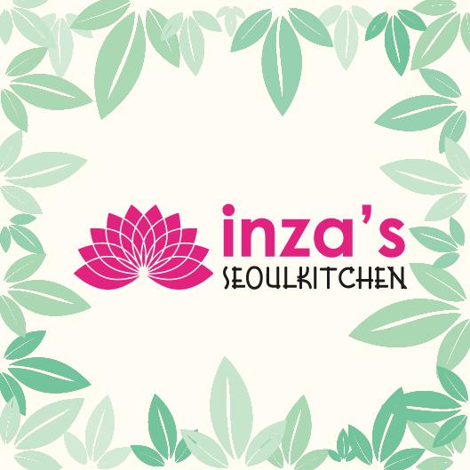 Inza's restaurant Tilburg- menukaart ontwerp - Dots & Lines