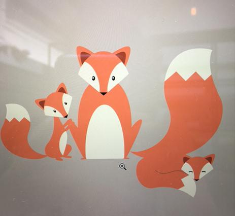 procesfoto vos - illustratie - illustrator Charlotte Heijmans