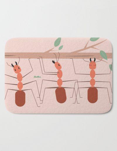 Badmat 'hardworking ants'
