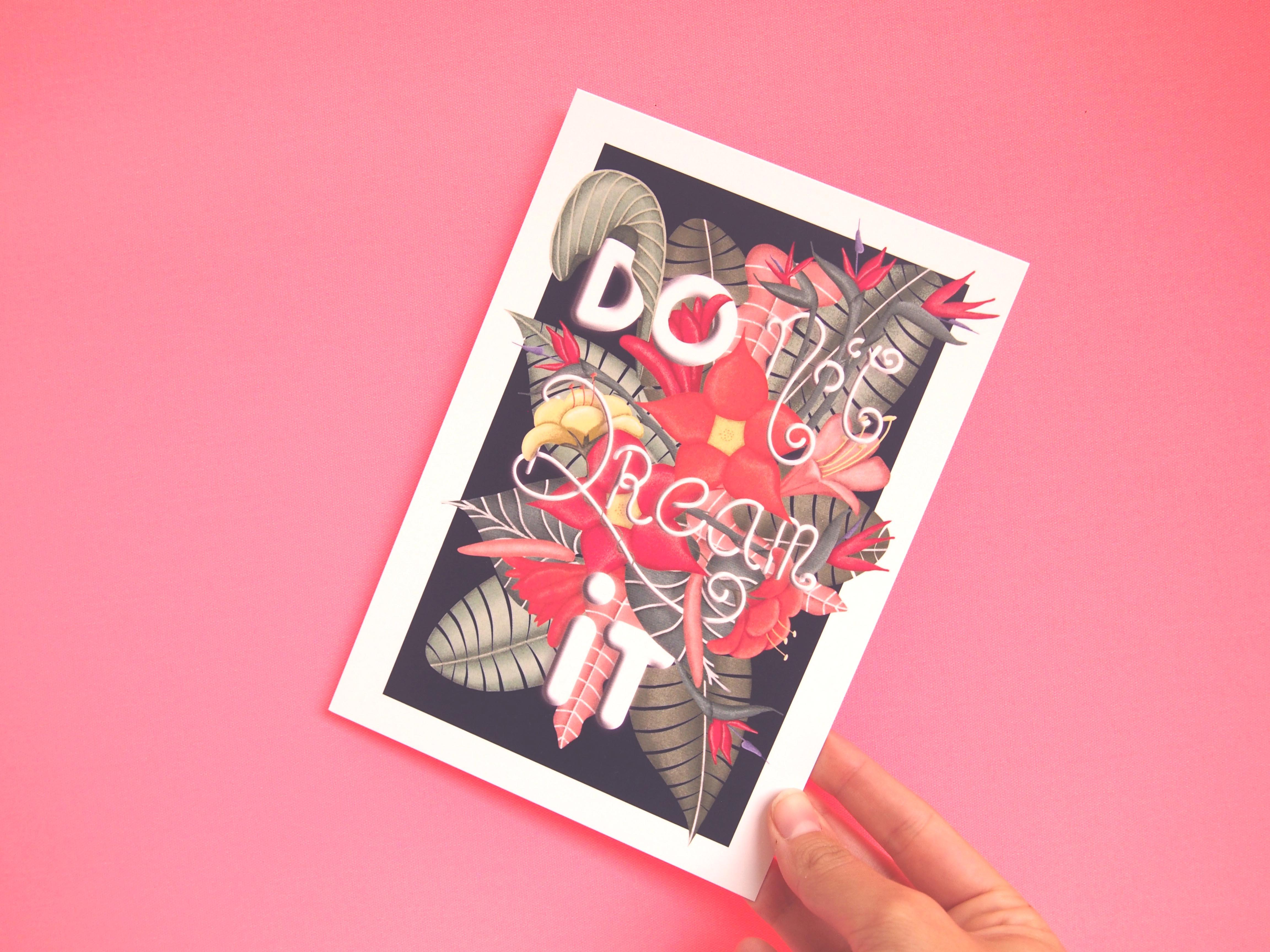 Illustratie winactie Dots & Lines - grafisch vormgever