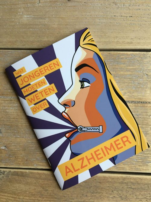 't Rijks - Alzheimer boekje - boek ontwerp - Dots & Lines