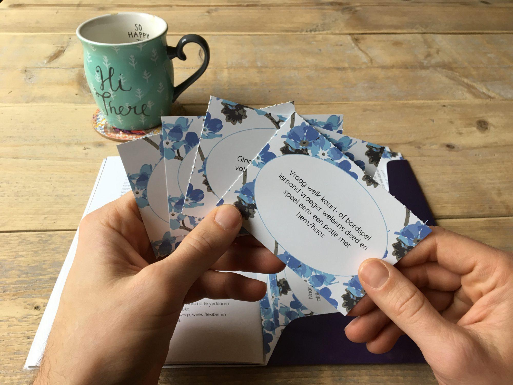 Boek ontwerp voor Stichting Alzheimer Nederland - Dots & Lines