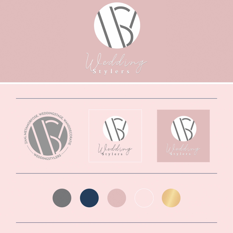 WeddingStylers - Huisstijl ontwerp - Dots & Lines - grafisch ontwerp