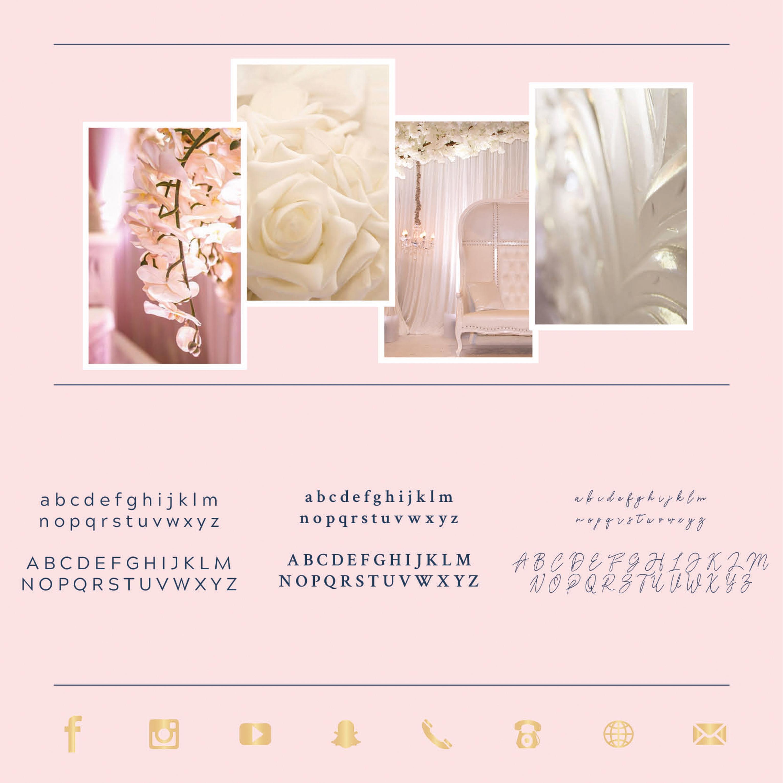 WeddingStylers - Huisstijl ontwerp - Grafisch ontwerp - Tilburg