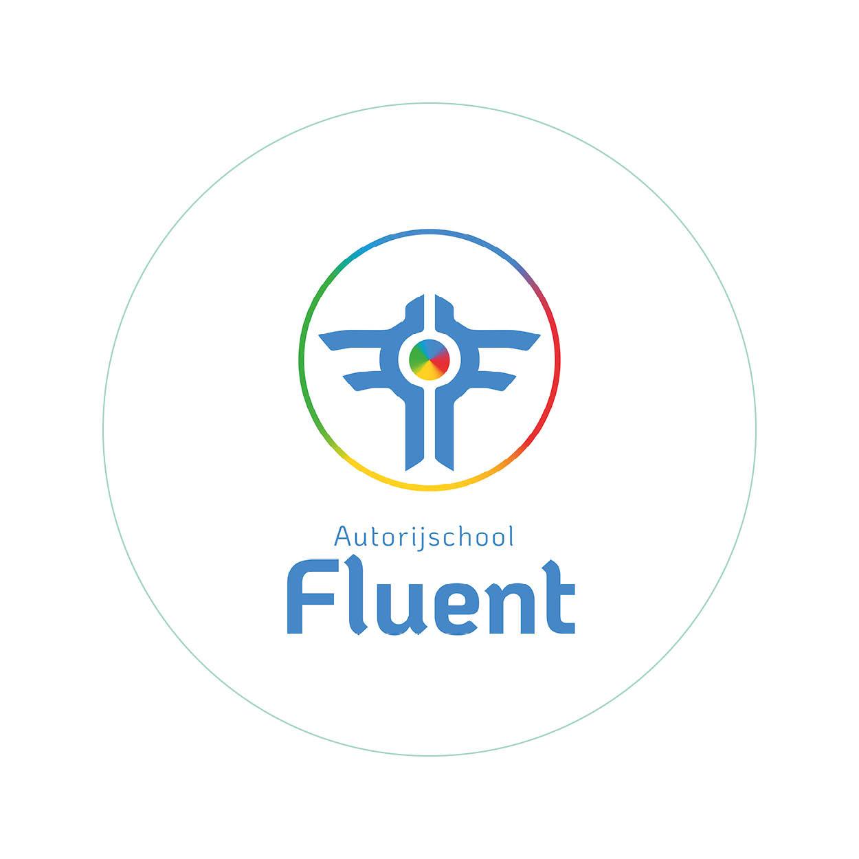 Logo ontwerp - Fluent - Dots & Lines - Grafisch ontwerp