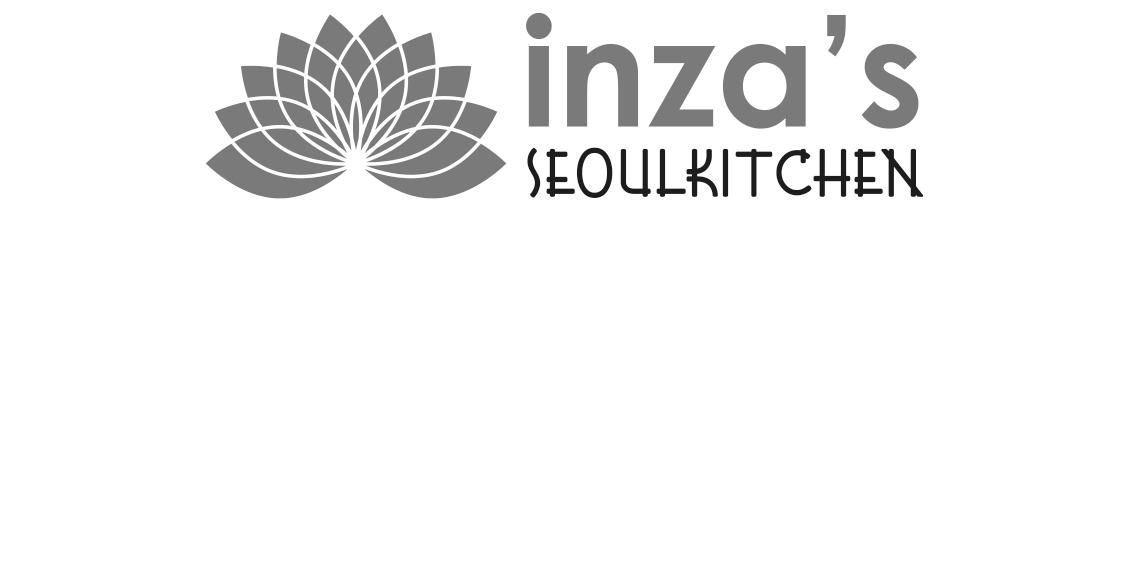 Logo - Inza's Seoulkitchen - Grafisch ontwerp Tilburg - Dots & Lines