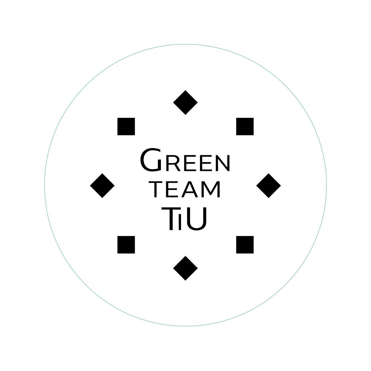 Logo ontwerp - Greenteam TiU - Dots & Lines - Grafisch ontwerp