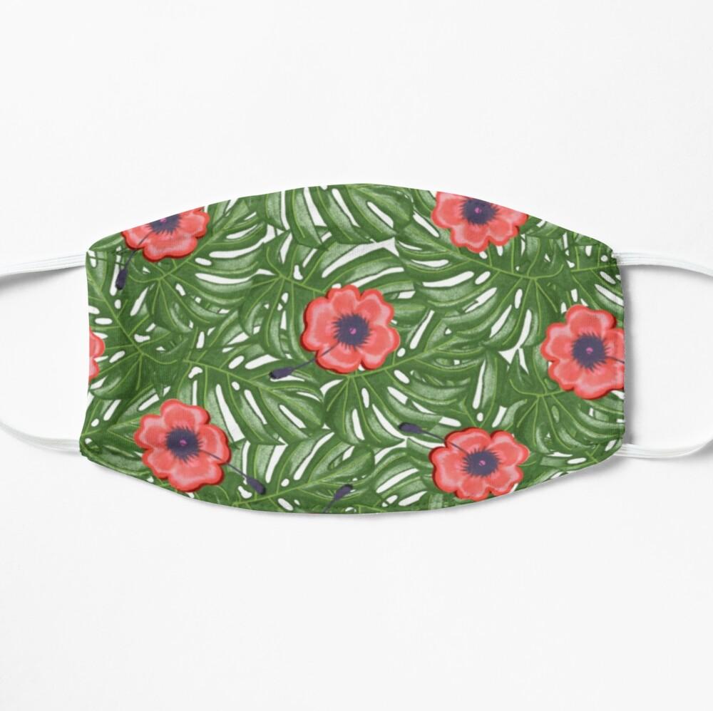 Mondkapje met print - Tropical flowers - Dots & Lines